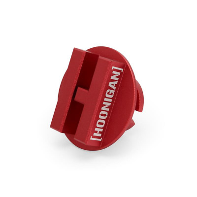 Mishimoto X Hoonigan Oil Cap - fits Mustang / Focus ST250 / RS EcoBoost - Red