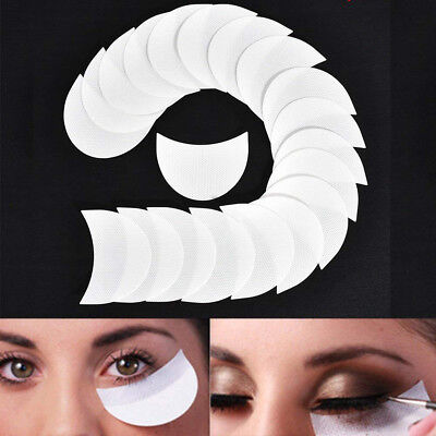 100pcs Eye Shadow Shields Protector Pads For Eyes Lips Makeup Application Tool
