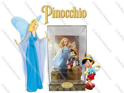 Disney D23 Expo Pinocchio and Blue Fairy Designer Limited Edition Dolls