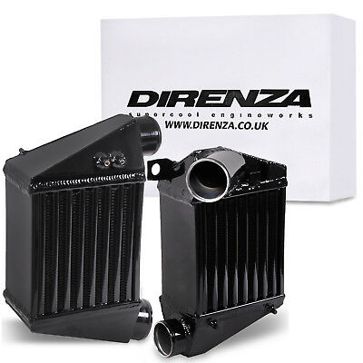 Direnza Black Alloy Side Mount Intercooler Smic For Audi Tt 8N 1.8T Quattro 225