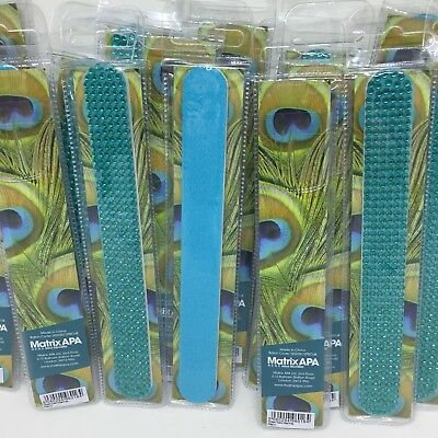 Job Lot Of 20 Green Gem Large Nail Files / Emery Boards - Ideal Boot Sale