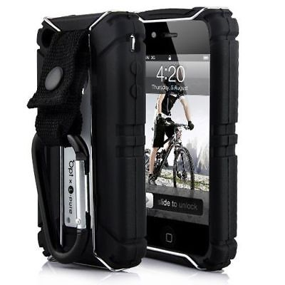 Tough Sports Shock Proof Steel Cage Armour Case iPhone 4S 4 Shockproof Apple