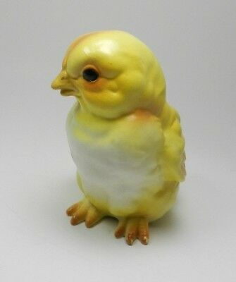 Vintage Lefton Yellow Porcelain Chick