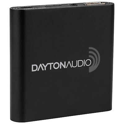 Dayton Audio MP1080 HD 1080P Portable Media Player For USB Drives And SD/SDHC Ca