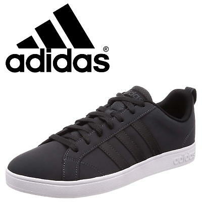 Adidas VS Advantage Men's Trainers Casual Classic Black Urban Sneakers