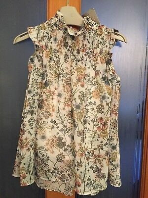 Girls Next Sleeve Smock Style Top Age 7