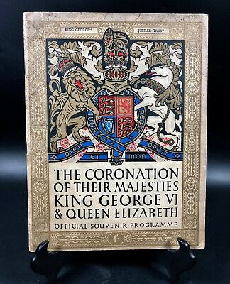 The Coronation of Their Majesties King George VI & Queen Elizabeth 1937 ~ Book