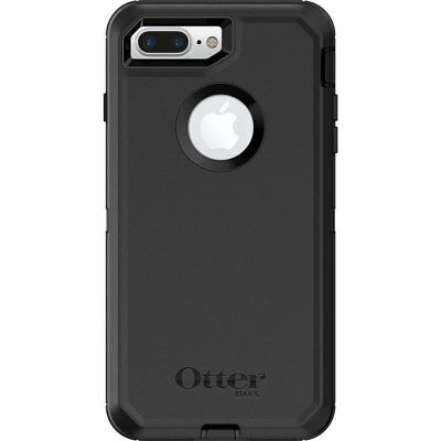 New OtterBox Defender Case For Apple iPhone 7 Plus / iPhone 8 Plus - Black
