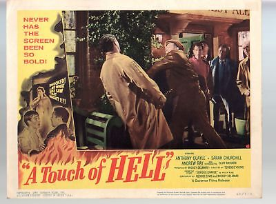 Touch Of Evil-Charlton Heston-Orson Welles-Janet Leigh-11x14-Color-Lobby Card