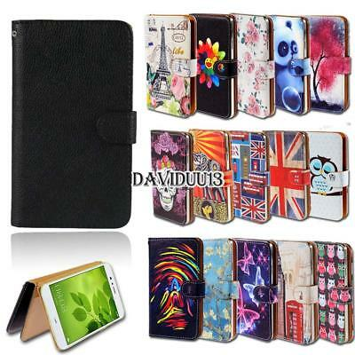 Leather Smart Stand Wallet Case Cover For Huawei Mate 8 9 10 S SE Phones
