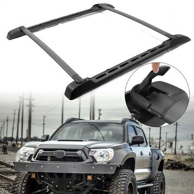 Style Roof Rail Rack Cross Bars Luggage For Toyota Tacoma Double Cab 2005-2018