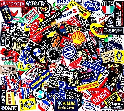 Select Patch Sponsor Racing Car Embroidered Iron On Sew Logo 200 Designs Vintage