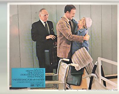 I Never Sang For My Father-Melvyn Douglas-Gene Hackman-11x14-Color-Lobby Card-FN