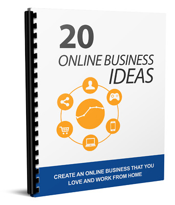 20 Online Biz Ideas with Master Resell Rights