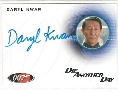 James Bond 007 Autogramme & Reste A232 Daryl Kwan in die Another Day Autogramm