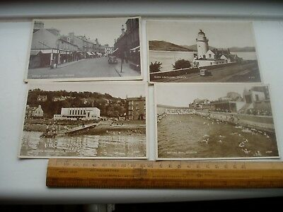Gourock 4 Early 20 Century Cards