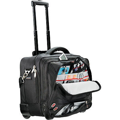 "elleven 17"" Wheeled Computer Case Laptop Bag / MacBook Pro Bag - NEW"