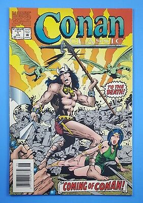 Conan Classic #1 Newsstand Edition Marvel Comics 1994 Barry-Windsor Smith