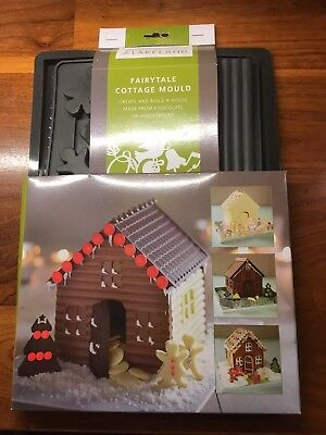 Lakeland Silicone Christmas Chocolate Gingerbread House Mould