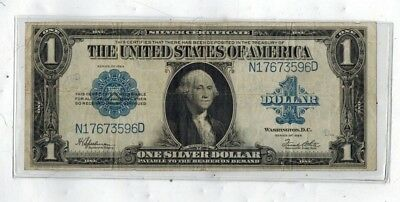 Series Of 1923 $1 Large Silver Certificate Currency Note No Reserve