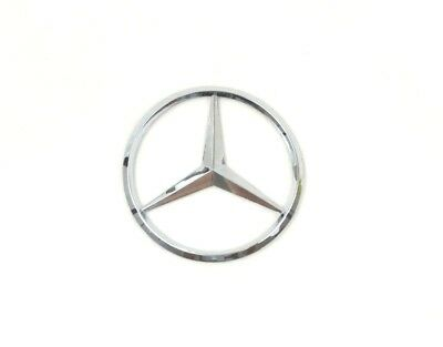 Mercedes Benz Chrome Badge Logo Emblem Rear Boot Class C B E S GLK ML 90mm