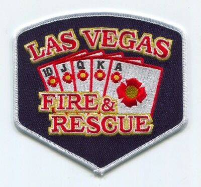 Las Vegas Fire and Rescue Department Patch Nevada NV v3