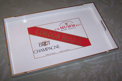 Cordon Rouge G.H.MUMM & CO. REIMS FRANCE Champagne Serving Tray