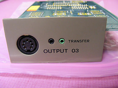 serial interface for Mettler M3 microbalance - aka output 03, option 03