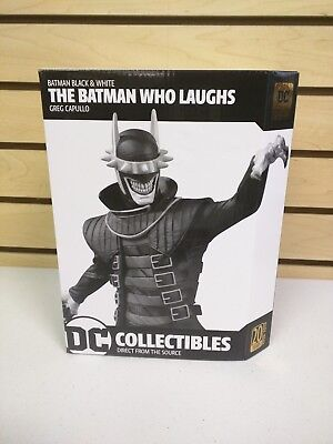 DC Collectibles Batman Black and White Batman Who Laughs Statue by Greg Capullo