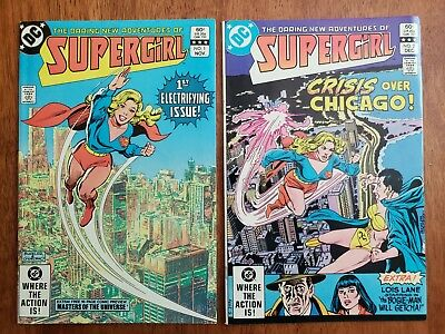 Supergirl #1-23 (DC 1982) Almost Complete High Grades NM 9.4