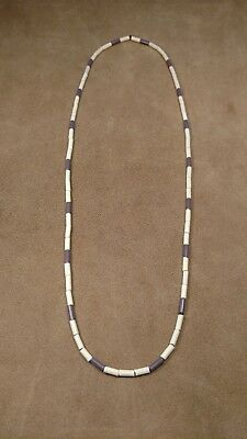 Vintage French Wampum Necklace (Glass Beads) Eastern Woodlands Longhunter !!