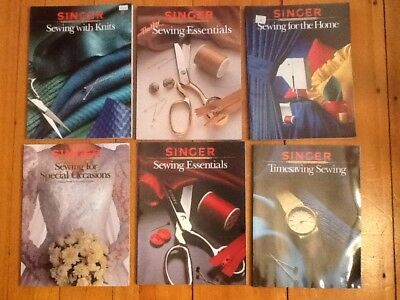 Lot of 12 Singer Sewing Reference Library Paperbacks