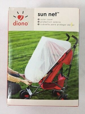 Diono Car Seat and Stroller Sun Net, White