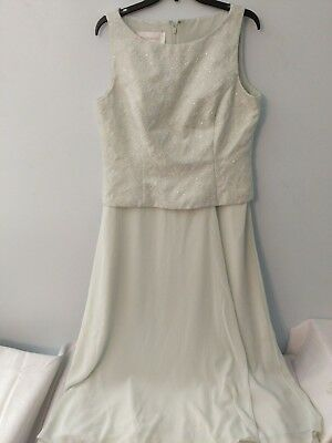 David Bridal Dress Size 14 Green Mother of Bride Formal Prom