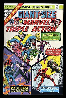 Giant-Size Marvel Triple Action #1 VF+ 8.5
