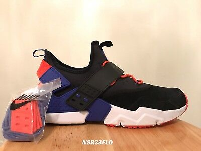 cf5165c12f1d Nike Air Huarache Drift Premium Black Rush Violet Orange Ah7335 002 Sz 12.5  New