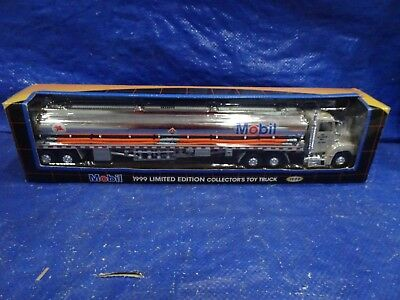 Mobil 1999 Limited Edition Collector's Toy Tanker Truck NRFB