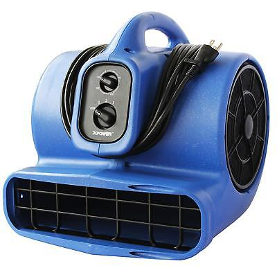 Xpower X-800Tf 3/4 Hp Air Mover, Carpet Dryer, Floor Fan, Utility Blower - With