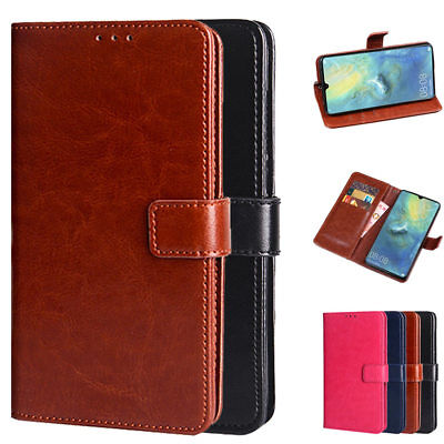 Dooqi Luxury PU Leather Wallet Card Flip Stand Cover Case For Huawei Mate 20X
