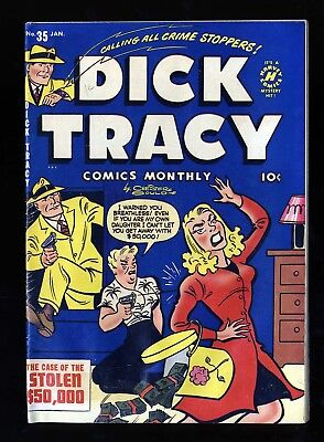Dick Tracy Monthly #35 VG 4.0