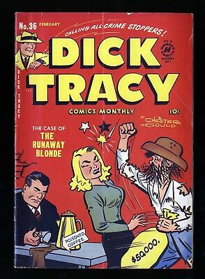 Dick Tracy Monthly #36 VG 4.0