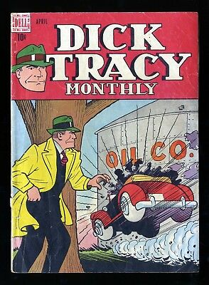 Dick Tracy Monthly #4 GD 2.0