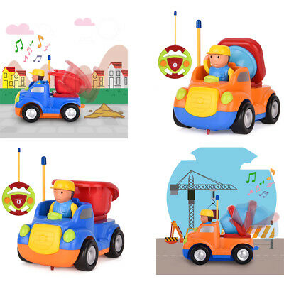 Remote Control Car Toy Cartoon Radio Racing Car Present for Kids Toddlers US