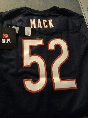 40f59cf2a35 BRAND NEW stitched Khalil Mack Chicago Bears Blue Men's Jersey #52 FREE  SHIPPING