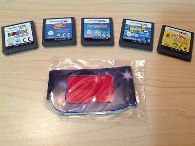 Lot (5) Boogie Payground Zubo Sims Nintendo DS DSi 3DS 2DS Game Cartridge Only