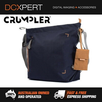 Crumpler Doozie Photo Shoulder Bag Small - Dark Navy / Copper