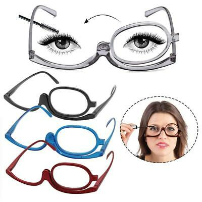 Magnifying Glasses Reading Glass Folding Eyeglasses Makeup Cosmetic +1 to +4.0