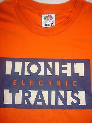 Lionel Electric Trains Logo Youth T-Shirt Orange-Large 14-16