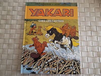 Yakari Ches Les Castors Editions Le Lombard Annee 2000