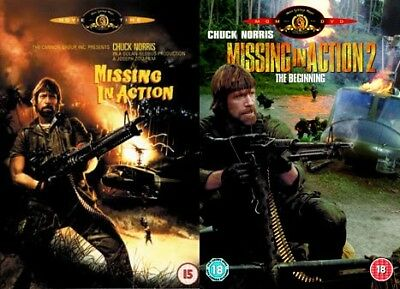 Missing in Action 1+2 (Chuck Norris) New DVD Region 4